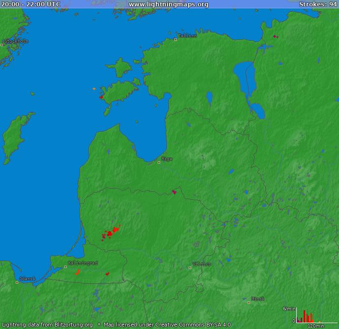 Äike reaalajas Eestis
